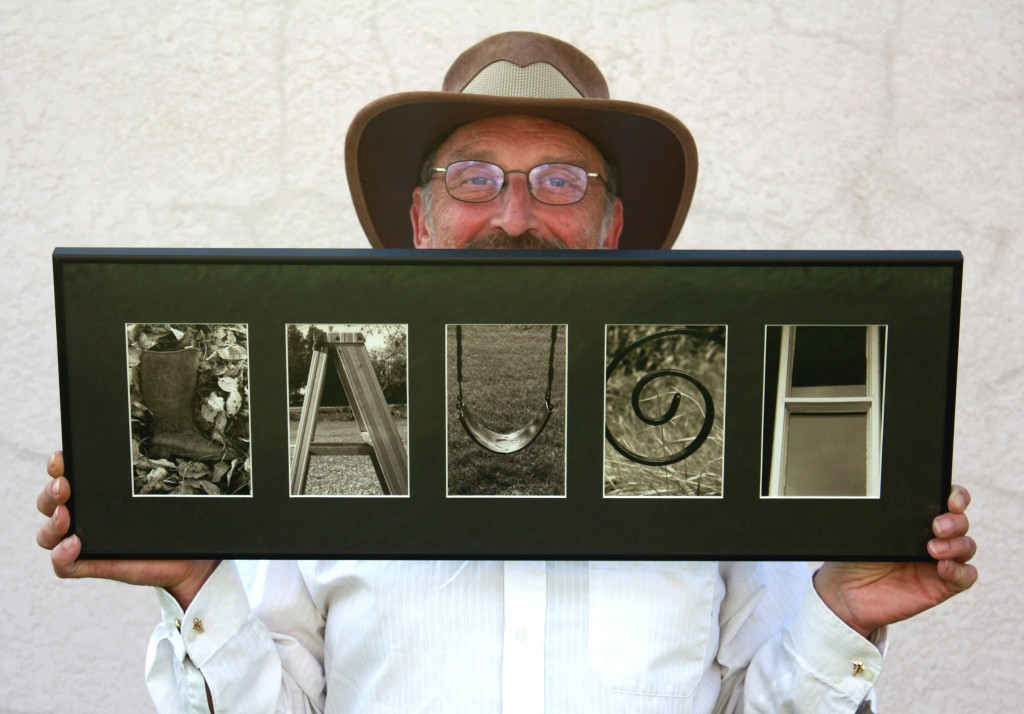 David the Letterman and A to Z Illusions, Alphabet Photography!